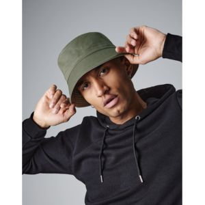 B686 Beechfield Reversible Bucket Hat Cappello reversibile in 100% cotone twill Thumbnail
